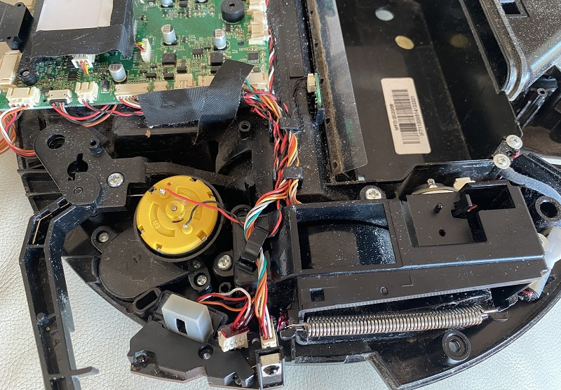 riparazione-assistenza-saronno-varese-como-milano-monza-brianza-robot-ilife-v7s-sensor